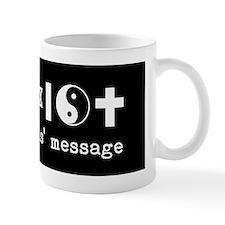 coexist bumper Mug