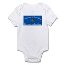 Welcome to Louisiana - USA Infant Bodysuit