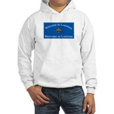 Welcome to Louisiana - USA Hoodie Sweatshirt