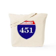 fahrenheit451 Tote Bag