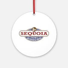 Sequoia National Park Ornament (Round)