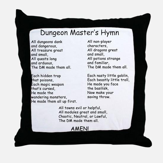 DMHymn Throw Pillow