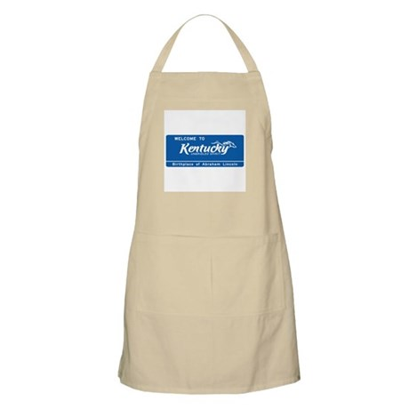 Welcome to Kentucky - USA BBQ Apron