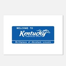 Welcome to Kentucky - USA Postcards (Package of 8)