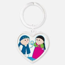 Seoulmates Heart Keychain