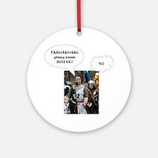 ekki Round Ornament