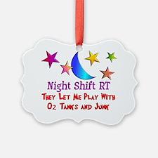 Night Shift Picture Ornament