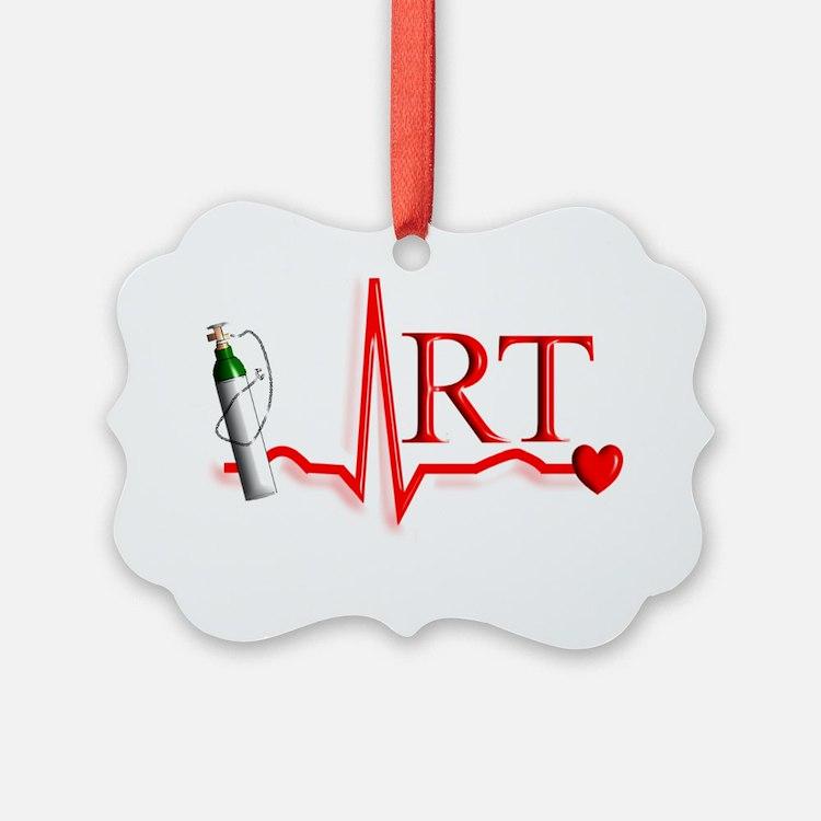 Respiratory Therapy Picture Ornament