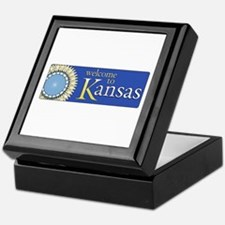Welcome to Kansas - USA Keepsake Box