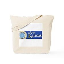 Welcome to Kansas - USA Tote Bag