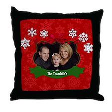 Christmas Photo Throw Pillow