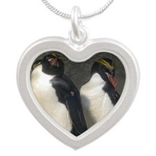 pens Silver Heart Necklace