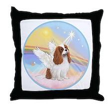 R-Clouds - Blenheim Cavalier (new) Throw Pillow