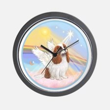 R-Clouds - Blenheim Cavalier (new) Wall Clock