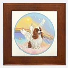 R-Clouds - Blenheim Cavalier (new) Framed Tile