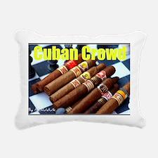 cubancrowd Rectangular Canvas Pillow