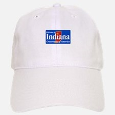 Welcome to Indiana - USA Baseball Baseball Cap