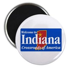 Welcome to Indiana - USA Magnet