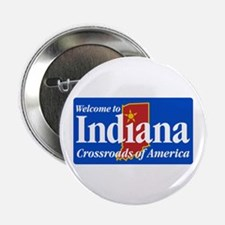 """Welcome to Indiana - USA 2.25"""" Button (10 pack)"""