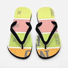 NU ABO Flip Flops