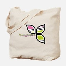 Tough girl cycling Tote Bag