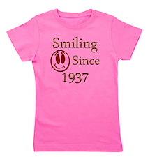 smiling 37 Girl's Tee