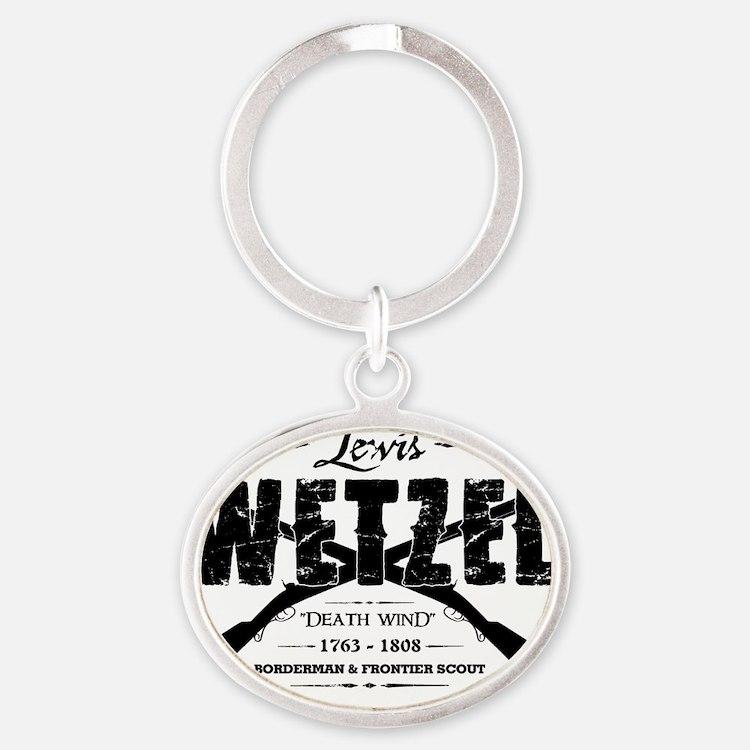 wetzel2 copy Oval Keychain