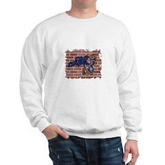 Old School Grafitti Style Design Sweatshirt
