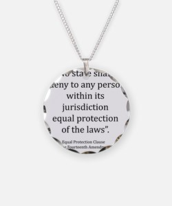 Equal Protection Necklace