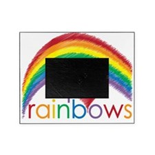 i love rainbows Picture Frame