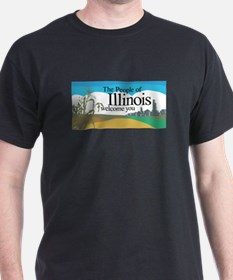 Welcome to Illinois - USA T-Shirt