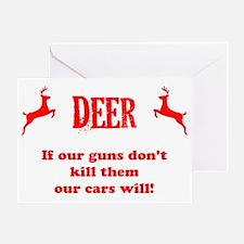 deer design copy Greeting Card