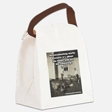 Homeschooling Works Canvas Lunch Bag