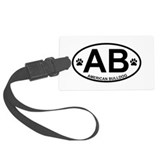 American bulldog Luggage Tags