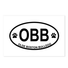 Olde-Boston-Bulldog Postcards (Package of 8)