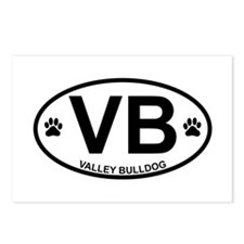 Valley-Bulldog Postcards (Package of 8)