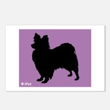 Papillon iPet Postcards (Package of 8)