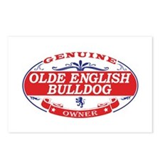 Olde-English-Bulldog Postcards (Package of 8)