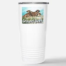 GROUND BEEF  mousepad Travel Mug