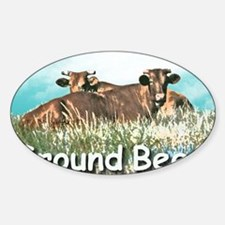 GROUND BEEF  mousepad Decal