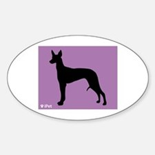 Pharaoh iPet Oval Decal