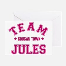 cougar-town_team-jules Greeting Card