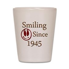 smiling 45 Shot Glass