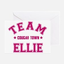 cougar-town_team-ellie Greeting Card