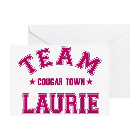 cougar-town_team-laurie Greeting Card