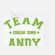 cougar-town_team-andy Greeting Card