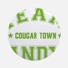 cougar-town_team-andy Round Ornament