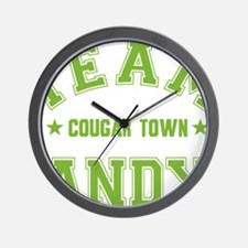 cougar-town_team-andy Wall Clock