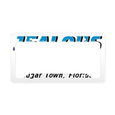 cougar-town_jealous-much License Plate Holder