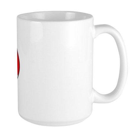 Rescue Diver (oval) Large Mug